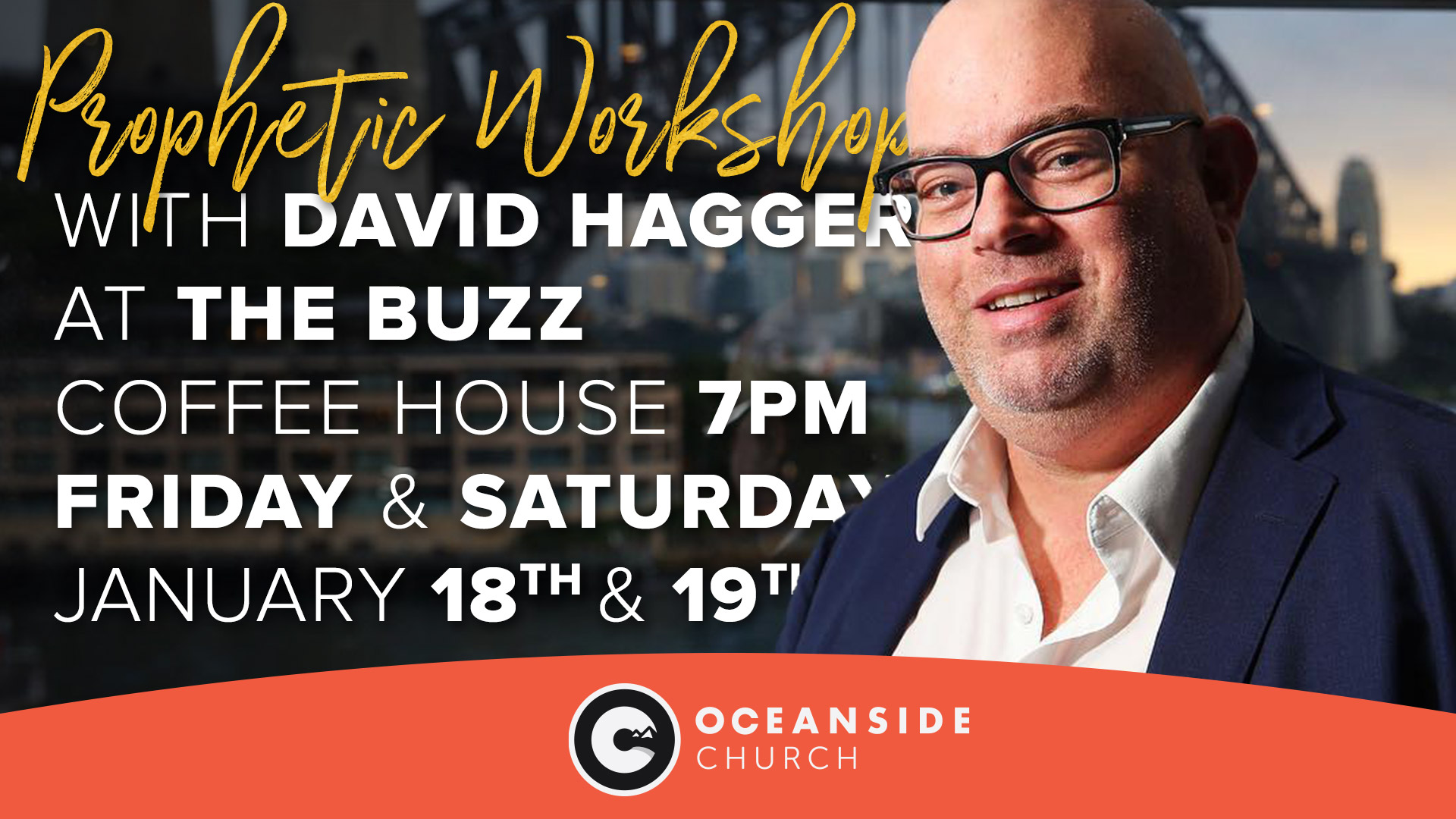 Prophetic Workshops with Dave Hagger