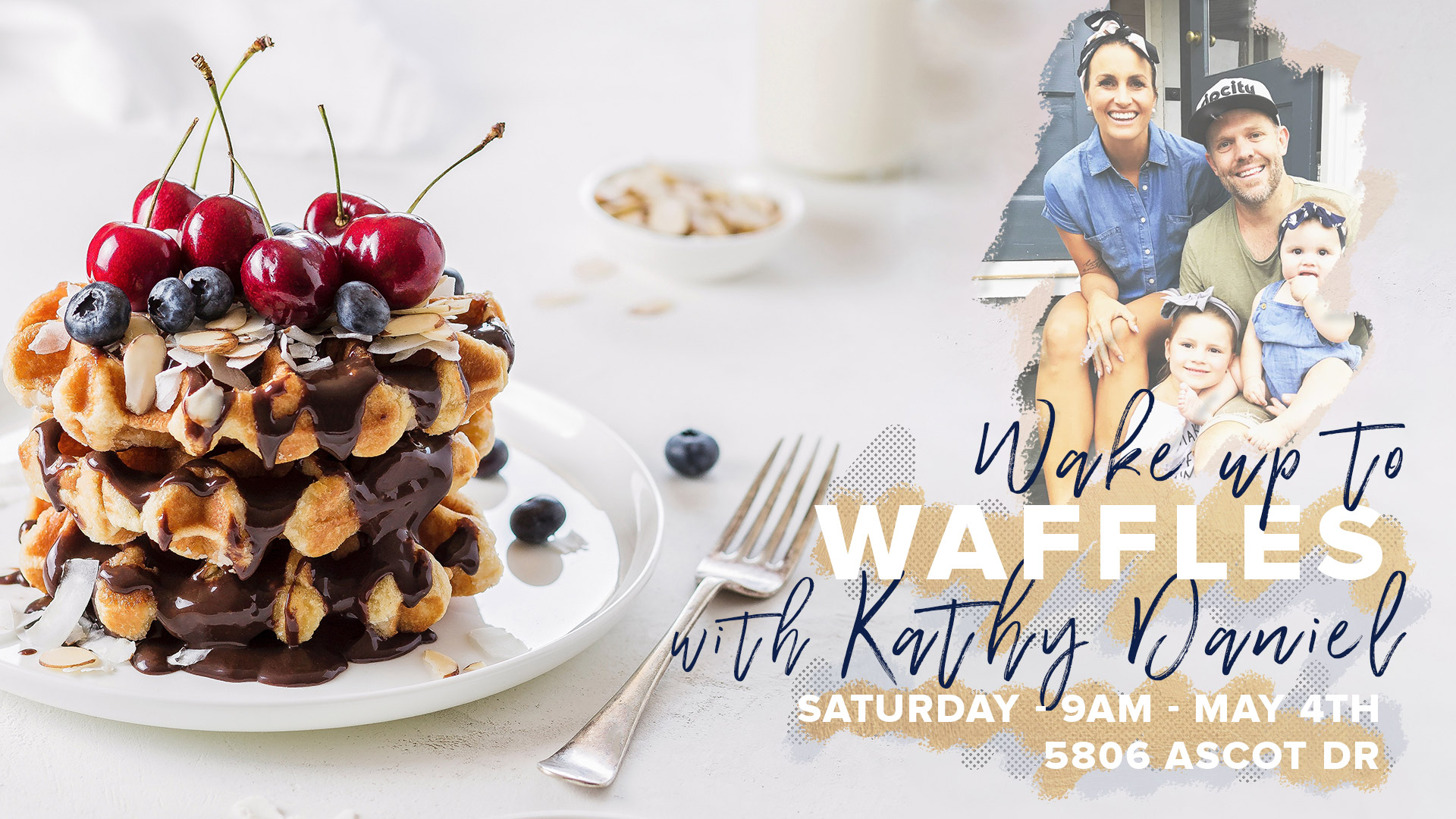 Women's Event - Waffles with Kathy Daniel