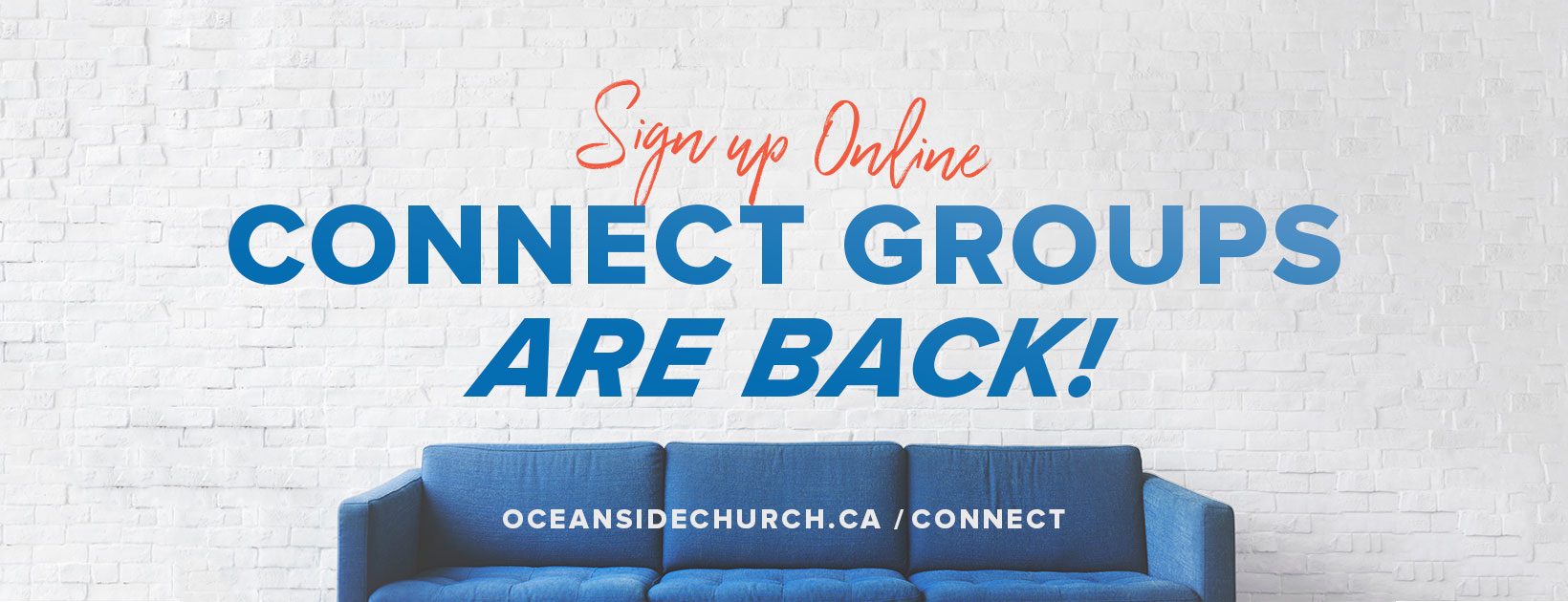Connect Groups Signup