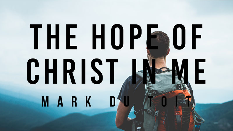 The Hope Of Jesus In Me