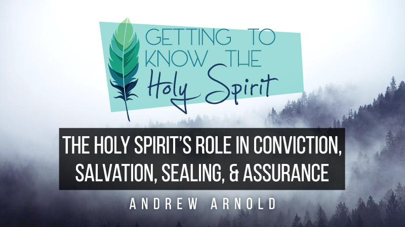 The Holy Spirit's role in conviction, salvation, sealing & assurance