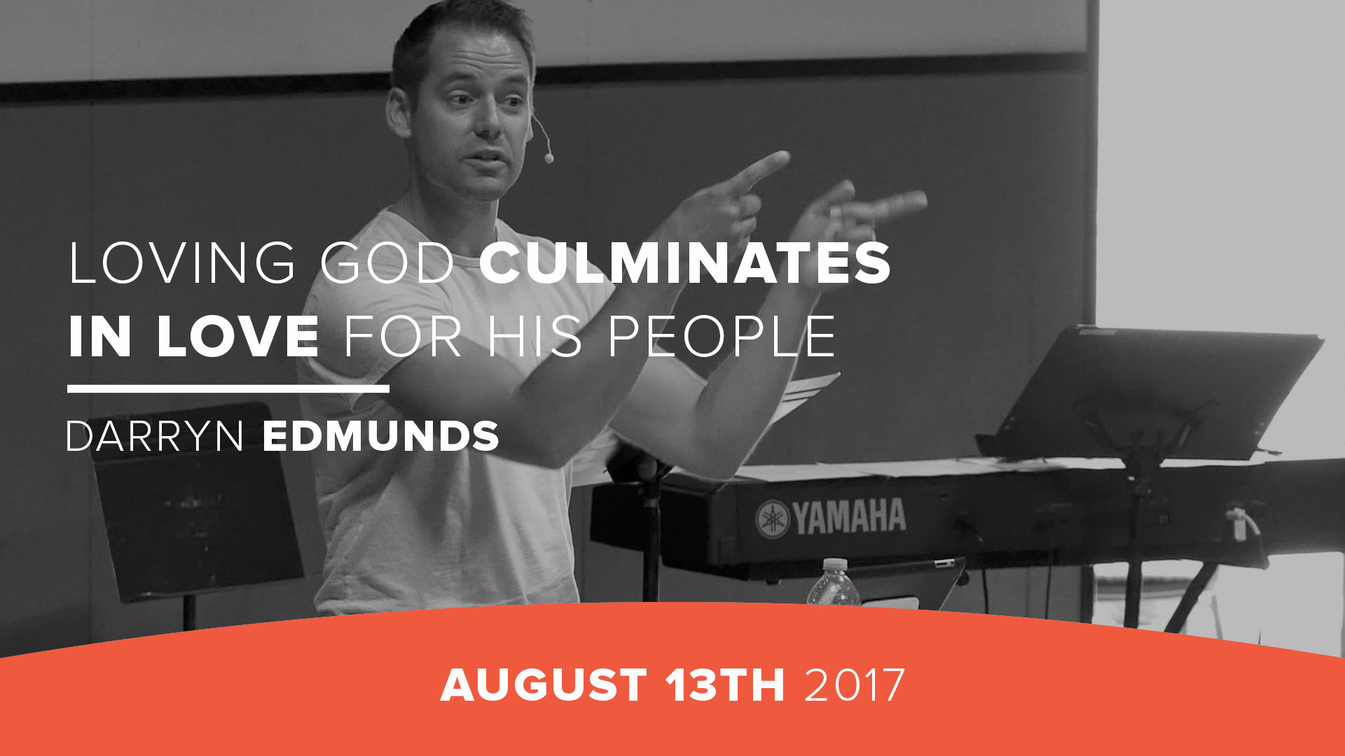 Loving God culminates in love for His people