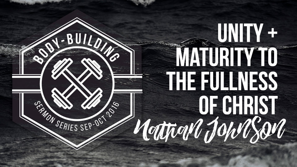 Unity & Maturity to the Fullness of Christ