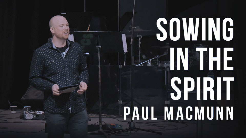 Sowing In The Spirit