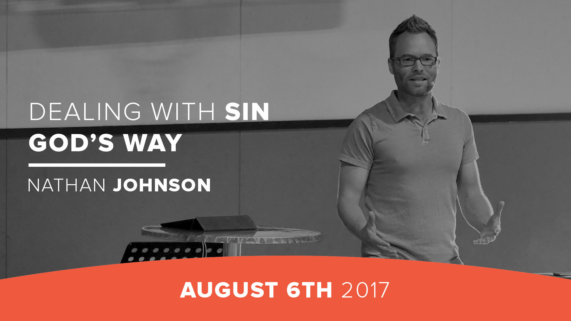 Dealing with sin God's way
