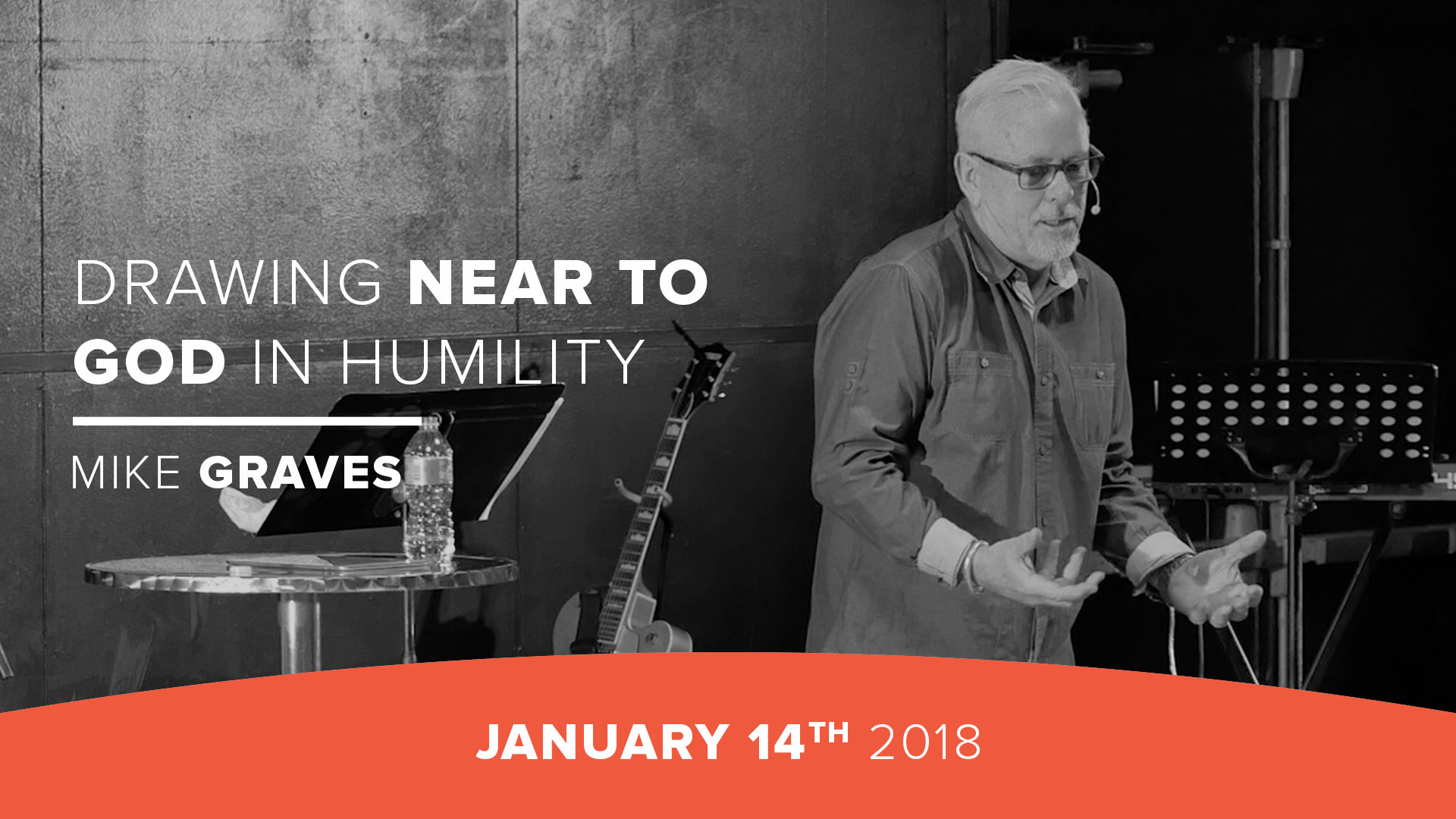 Drawing near to God in humility