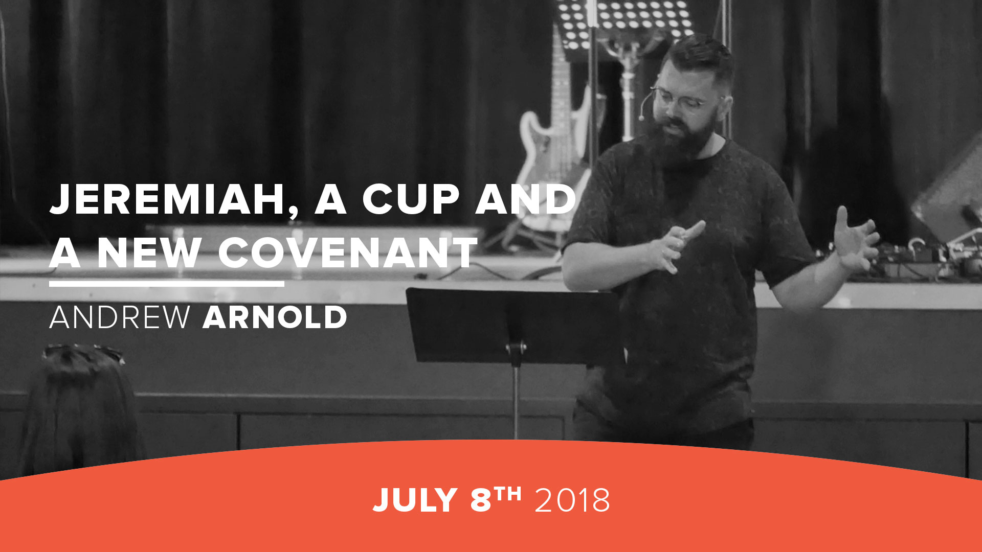Jeremiah, a Cup and  a New Covenant
