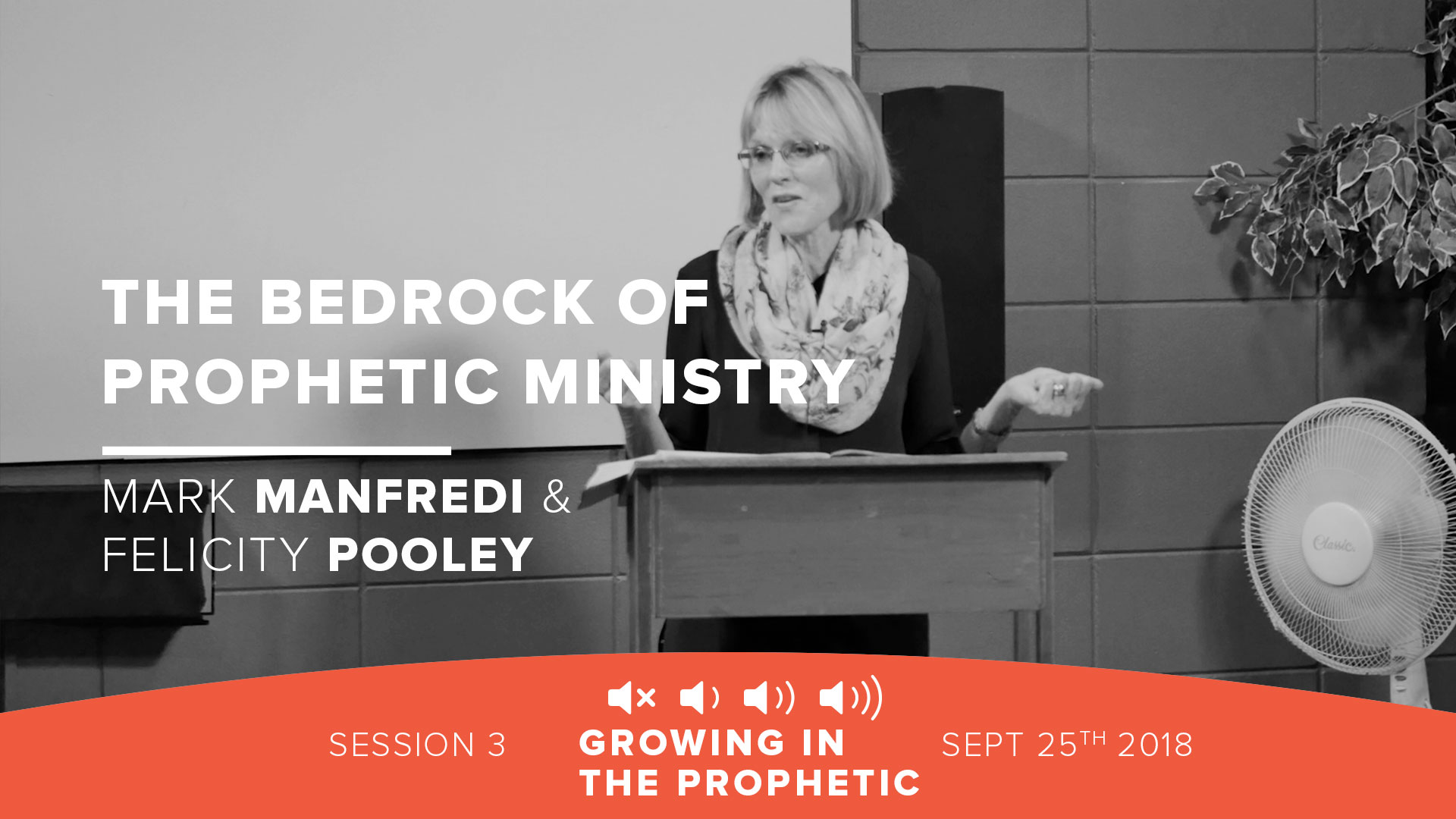 The Bedrock of Prophetic Ministry: Relationship (Time with God)