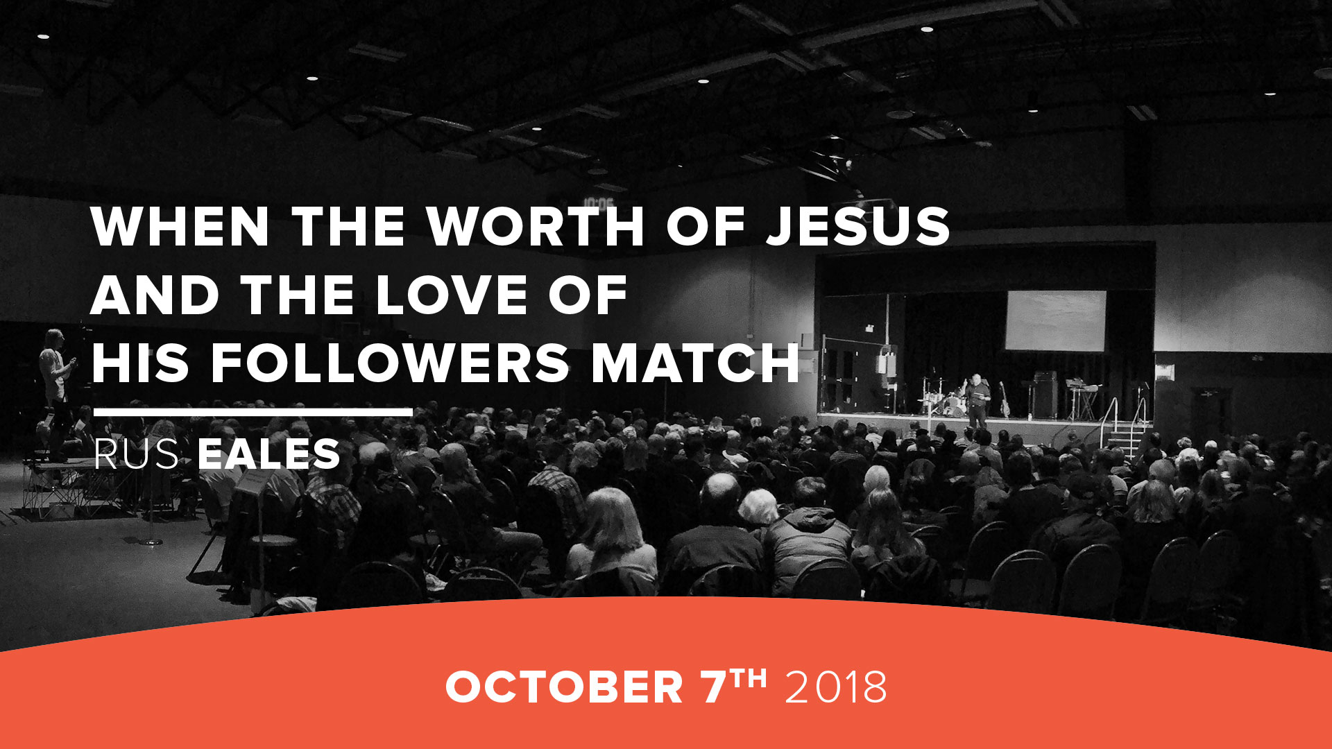 When the worth of Jesus and the love of His followers match
