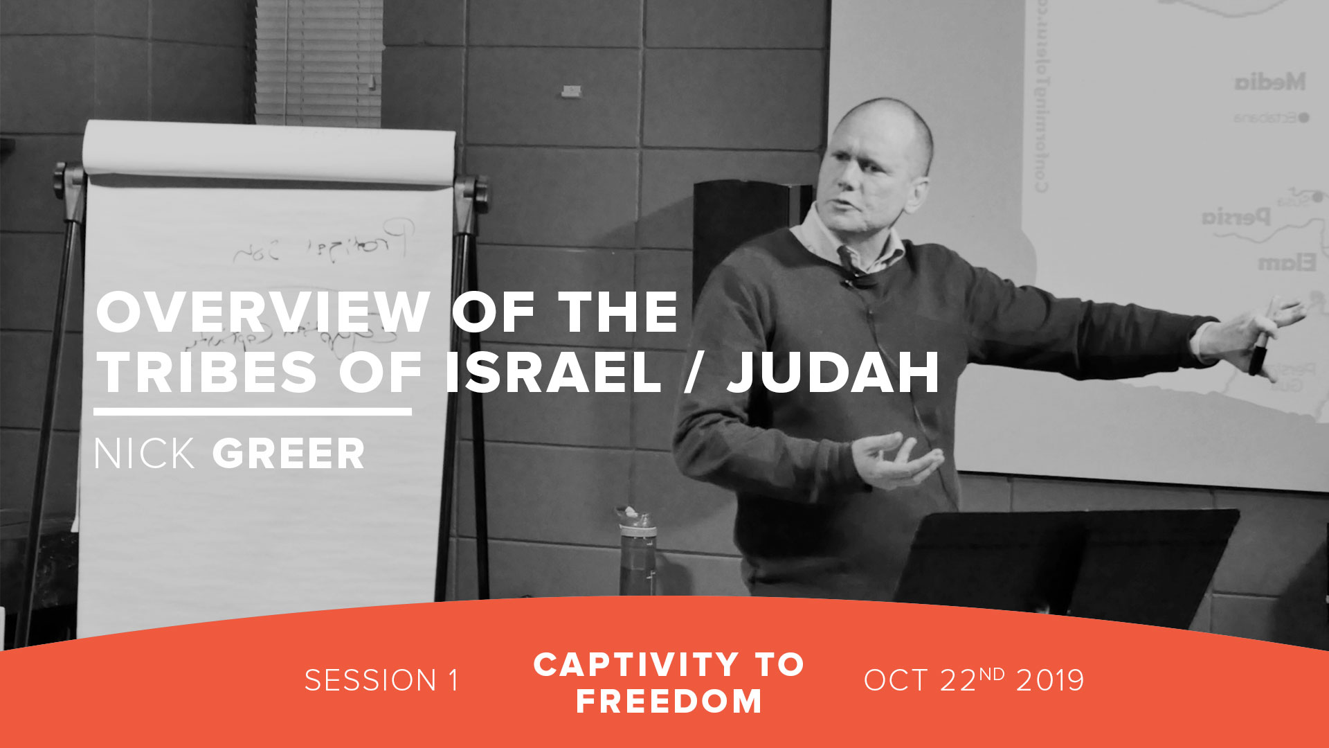 Session 1: Overview of the Tribes of Israel / Judah
