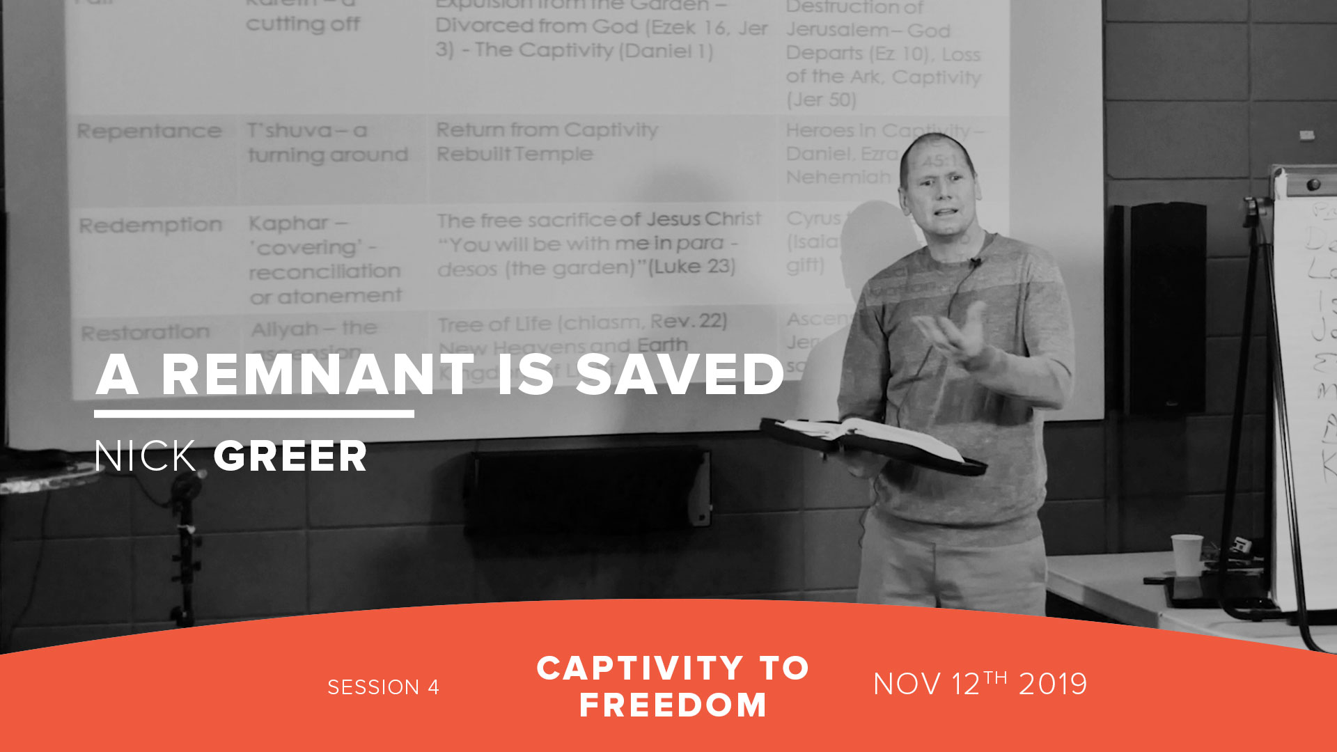 Session 4: A Remnant is Saved