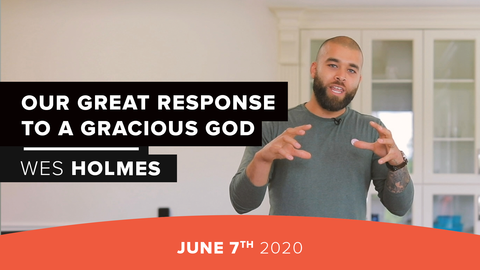 Our Great Response to a Gracious God