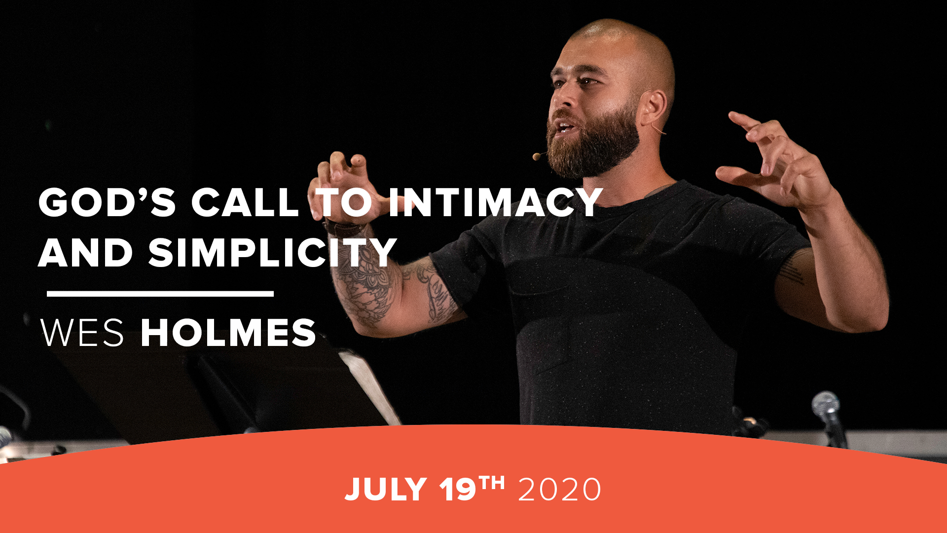 God's Call to Intimacy and Simplicity