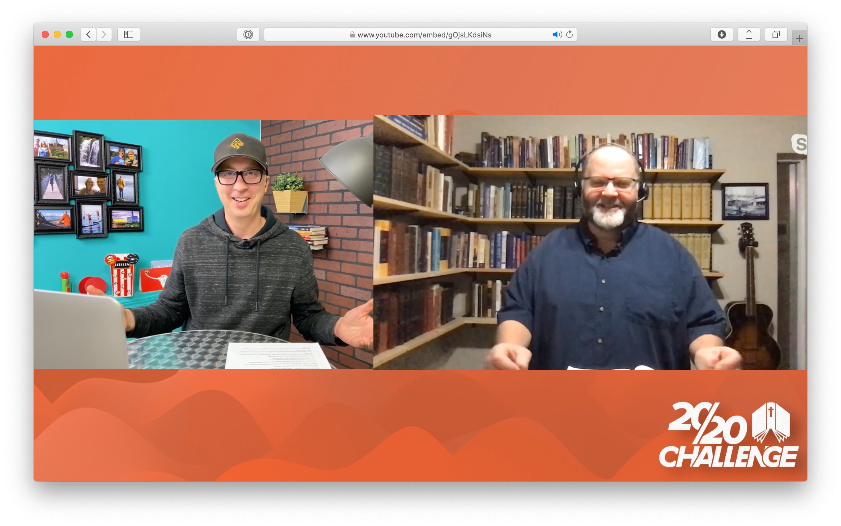 2020 Challenge Live Teachings (Every Monday)