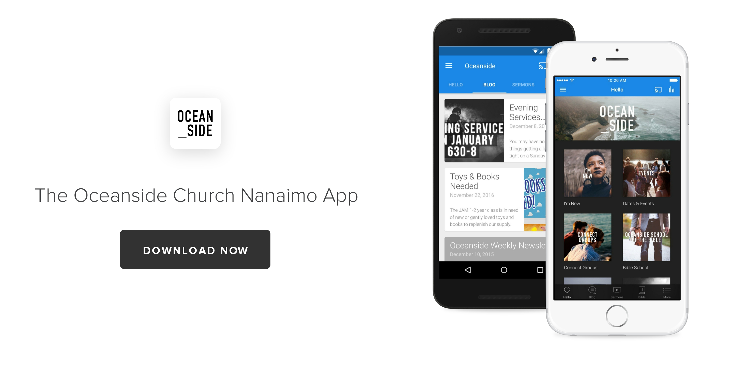 Download the new Oceanside Church App