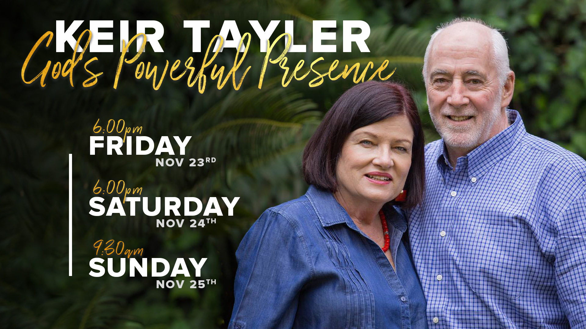 God's Powerful Presence with Keir Tayler