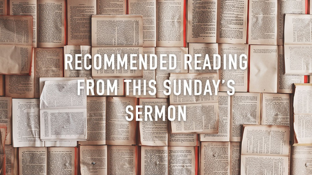 Recommended Books from Easter Sunday