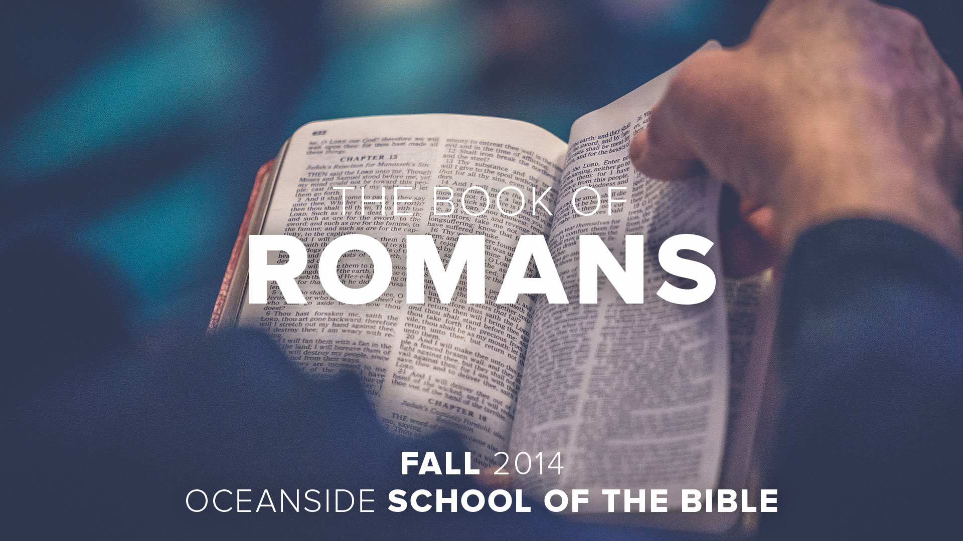 Session 8 - Romans
