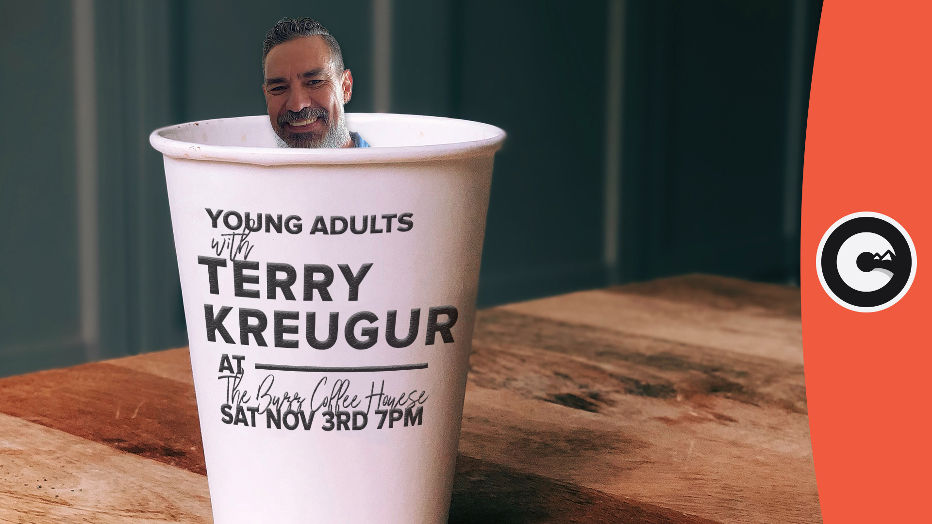 Young Adults Night with Terry Kreuger