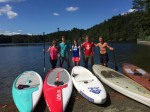 Paddle Boarding Group